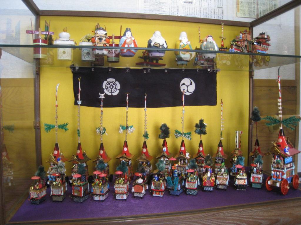 祇園祭のミニ鉾
